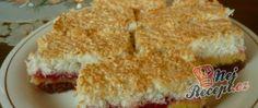 Recept Kokosové řezy s domácím džemem Krispie Treats, Rice Krispies, Anna, Food, Essen, Meals, Rice Krispie Treats, Yemek, Eten