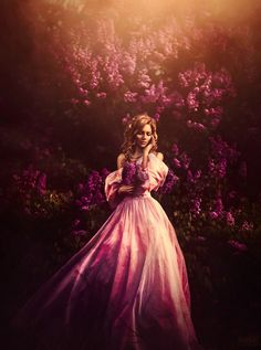 Svetlana Belyaeva - Fashion Photographer - Valentine - Love - Purple Rose Concept