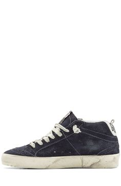 Mid/Star Suede Sneakers with Leather detail 2