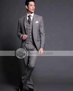 DinoDirect.com supplied the best products you like.Do you want to have a elegant and gorgeous bridegroom suit? Here the Solid One Welt Pocket Wool Groom Wear can satisfy your needs.Wedding is one of the most memorable and important things in one's life. For the special time, we are highly recommended this Men Groom Wear to you. You can also wear Men Groom Wear at normal days for a little bit formal occasions or match them with other informal clothes for casual style. Pocket Wear will…