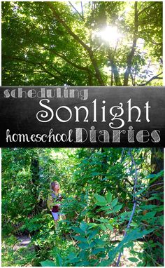 Our #Sonlight Homeschool Life! Schedule versus real life in our homeschool. A day in the life of a homeschooler.