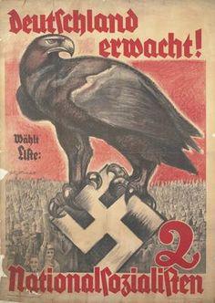 NSDAP PROPAGANDA POSTER