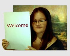 A Mona Lisa Welcome!