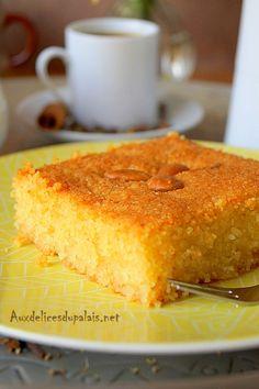 Chamia Kalb el louz au yaourt / Ramadan 2016 Algerian Recipes, Algerian Food, Middle East Food, Ramadan Recipes, Recipe Boards, Arabic Food, International Recipes, Flan, My Recipes