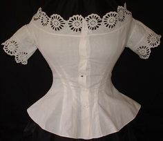 1865 corset cover  (I think this is pretty)