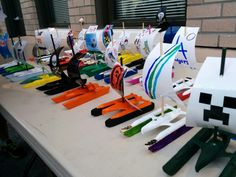 Ready for the 2014 Raingutter Regatta with boy scouts cubs toy sailboat Cub Scouts, Girl Scouts, Rain Gutter Regatta, Pack Meeting, Sailboat Racing, Pinewood Derby Cars, Kid Pool, Girl Scout Crafts, Boat Design