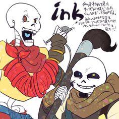 Undertale,фэндомы,underswap,Undertale AU,Underfell,Swapfell,horrortale,outertale,inktale,Sans,Undertale персонажи,Papyrus,ink!Sans,ink!Papyrus