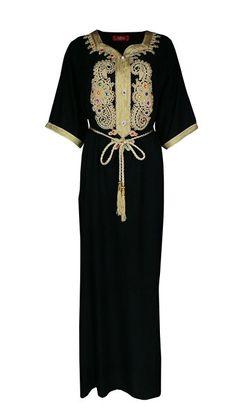 Muslim Abaya Dubai Kleid für Frauen islamischen Kleid Islamische Kleidung muslimische Kaftan / Caftan Rayon Gewand Jalabiya 1606