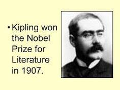 Poet & Novelist~Rudyard Kipling