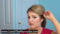 Ponytail with Volume poof bump tutorial