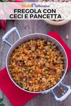 good italian meals to cook Lentil Recipes, Pasta Recipes, Gnocchi Pasta, Italian Recipes, Italian Meals, Dinner Is Served, Couscous, No Cook Meals, Food Inspiration