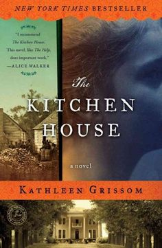 The kitchen house by Kathleen Grissom. Working as an indentured servant alongside slaves on a tobacco plantation, Lavinia, a 7-year-old Irish orphan with no memory of her past, finds her light skin and situation placing her between two very different worlds that test her loyalties.