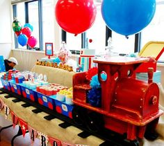 Southern Blue Celebrations: Train Party Ideas & Inspirations