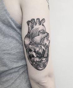 Instagram Heart, Cardiff, Skull, Scene, Bear, Tattoos, Design, Tatuajes, Tattoo