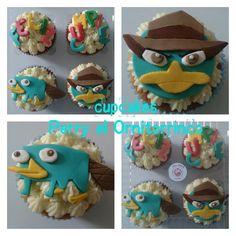 cupcakes perry el ornitorrinco