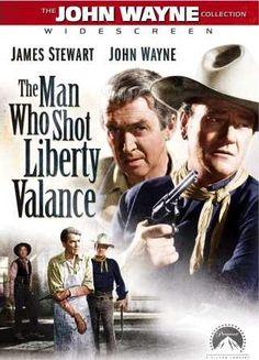 The John Wayne Collection - Widescreen - James Stewart - John Wayne - Lee Marvin - The Man Who Shot Liberty Valance - Paramount