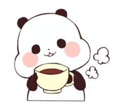 Panda Wallpapers, Cute Cartoon Wallpapers, Cute Easy Drawings, Kawaii Drawings, Panda Kawaii, Panda Lindo, Panda Bebe, Panda Funny, Chibi Cat