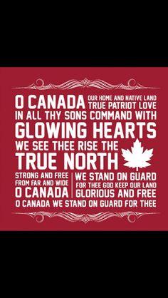 O Canada. <3