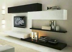 Ideas para decorar el area de tv (11)
