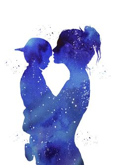 Mother And Son Digital Art - Mother and son by Erzebet S Mommy And Son, Mom Son, Mother Art, Mother And Child, Mother Daughters, Tattoo For Son, Mother Images, Silhouette Art, Mothers Love