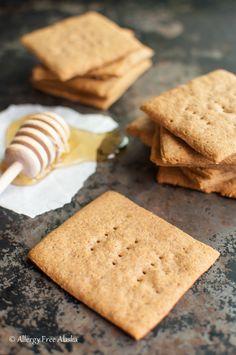 Gluten Free Honey Graham Crackers Recipe - Allergy Free Alaska