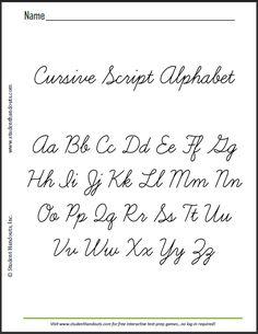 Cursive alphabet fabric. | Isaac | Pinterest | Fabrics, Cursive ...
