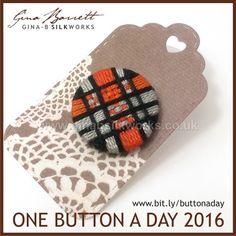Day 191: Benjamin #onebuttonaday by Gina Barrett