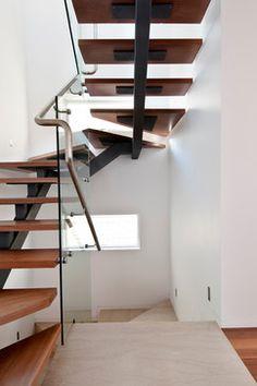 Angular staircase