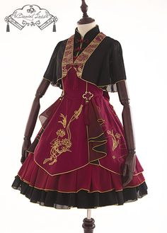 QuaintLass -Lotus with Fragrance- Qi Lolita Cape