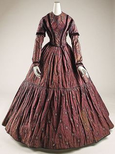 Dress  Date: mid-19th century Culture: British
