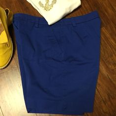 SZ 16KIM ROGERS COBALT BLUE SHORTS Pretty blue shorts to brighten up your summer wardrobe.. See pics for waist and inseam measurements  Kim Rogers Dresses