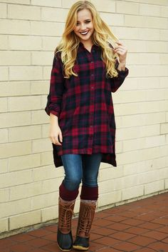 Hanging By The Fire Tunic: Multi #shophopes
