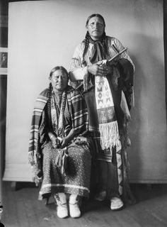 Bear Wings and wife – Southern Cheyenne – 1908
