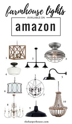 Favorite Light Fixtures For Fixer Upper Style Home Decor