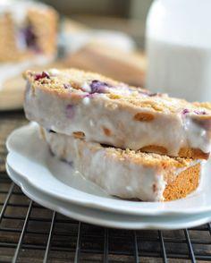 Blueberry Zucchini Bread -