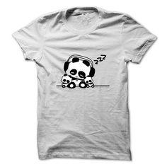Sleeping Panda T Shirts, Hoodies. Get it now ==► https://www.sunfrog.com/Pets/Sleeping-Panda-T-shirt.html?41382