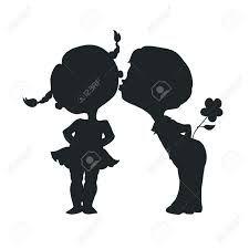 kiss silhouette - Cerca con Google
