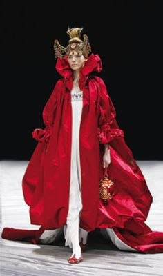 Ensemble, The Girl Who Lived in the Tree, McQueen, autumn/winter 2008–9