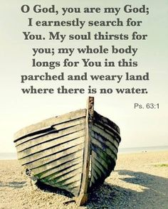 Psalm 63:1 by gldnj