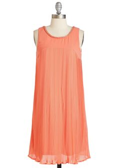 New Arrivals - Dream Twirls Dress in Coral