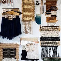 All Roads weavings via Huffington Post
