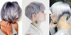 Here, we love hair! If you are a beauty artist send us a message for a free feature! Short Silver Hair, Short Grey Hair, Short Hair Cuts, Short Hair Styles, Best Pixie Cuts, Great Haircuts, Messy Hairstyles, Gorgeous Hairstyles, Love Hair