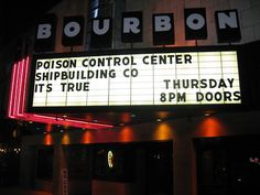 """The Bourbon Theater on Lincoln's busy """"O"""" Street"""