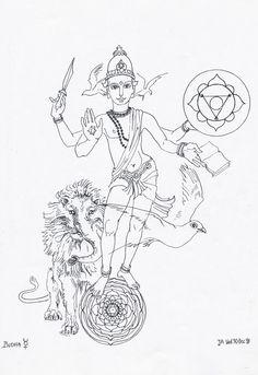 13 Budha Mercury2/janeadamsart
