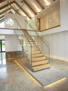 Stairway to Heaven glass balustrades