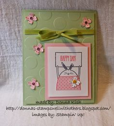 Stamps Well With Others - SU - Cheerful Critters, Easter