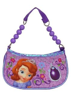 Sofia The First Mini Handbags Kids Bags One Handle Door