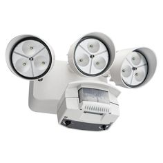 Square white finish motion sensor outdoor ceiling light http best outdoor motion detector flood lights outdoor lighting is an extremely attractive way to add security to company a home rental house or public are aloadofball Choice Image