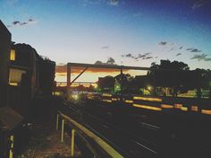 Inner West sunset from Enmore ... #sunset #sun #sky #skyporn #bluesky #twilight #orange #train #trains #transport #publictransport #sydney #innerwest #innerwestisbest #innerwestsydney #newtown #enmore #camperdown #stanmore #follow #landscape #like #instacool #instagood #instalike #instadaily #picoftheday #photooftheday #photo by innerwest4lyf