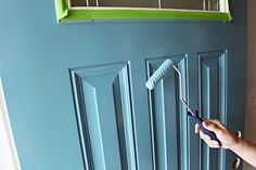 Tutorial for painting a front door...doing ours this summer!